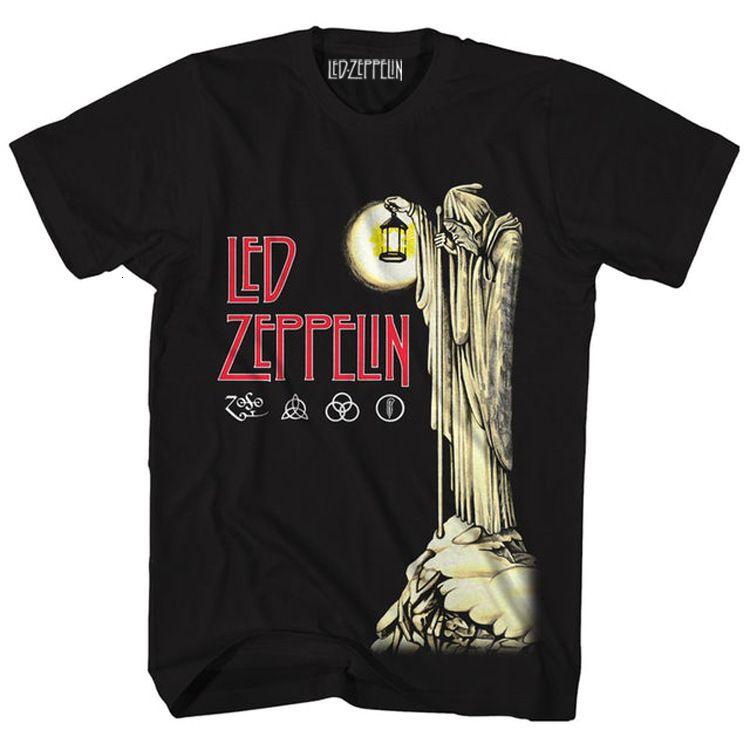 Led Zeppelin American Rock Rock T-shirt manica corta da uomo