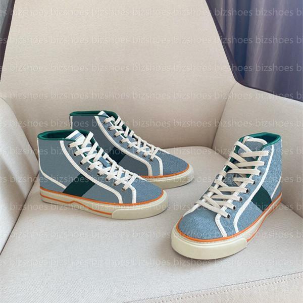 التنس 1977 عالية أعلى حذاء عداء عارضة الأحذية الأخضر الأحمر الشريط التطريز قماش للجنسين الأحذية الفضلات مصممي أحذية رياضية آس خمر المدربين