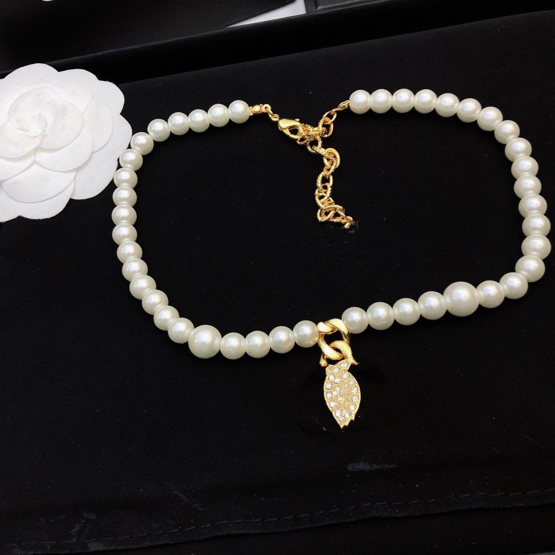 Ciondolo di perle di lusso collane moda per uomo donna donna di altissima qualità festa festa da sposa frange triangoli amanti regalo gioielli hip hop