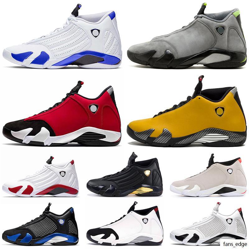 Toptan Üst Erkek Basketbol Ayakkabı 14 S Jumpman 14 Spor Kırmızı SPM Siyah Mavi SE Siyah Kırmızı Hiper Kraliyet Siyah Toe Sneakers Eğitmenler