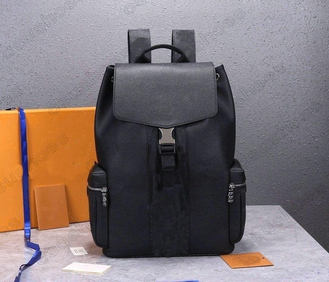 M30419 Открытый рюкзак на открытом воздухе Кожаные монограммы Eclipse Холст Урожай ноутбук рюкзаки с защелкивающимися пряжками Роскошки черные синие старые цветочные дизайнеры школьные сумки M30417