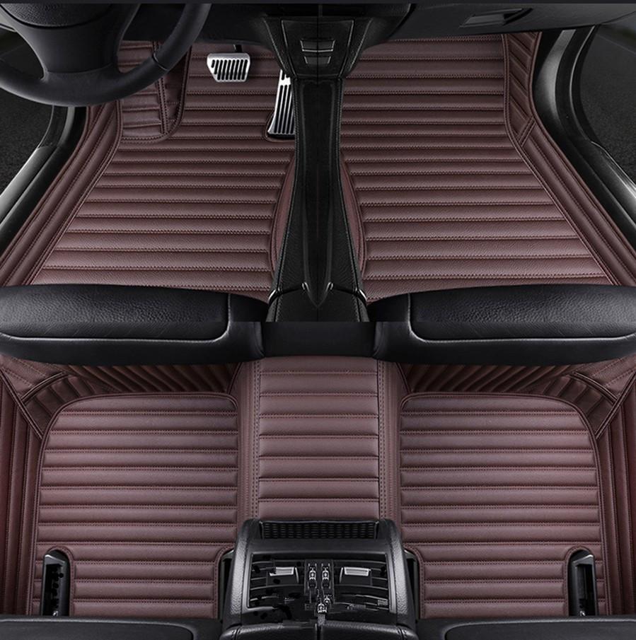 Tapis de plancher de voiture pour BMW 5 Series E39 E60 F10 G30 F90 Gran Turismo F07 5 Touring E39 E61 Luxe-Surround
