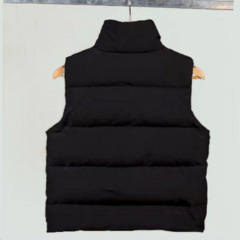 2021 겨울 조끼 후드 워드 조끼 남자의 후드 자켓 고품질 럭셔리 하향 조끼 겨울 코트 야외 스포츠 재킷 겉옷