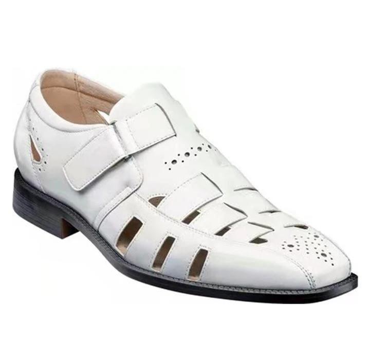 Sandalen offene Zehe Fashion Womens Schuhe 2021 Weibliche Sandale Peep Luxus Low Girls Sommer Beige Strand Komfort Skandale PU Haken Schleife so