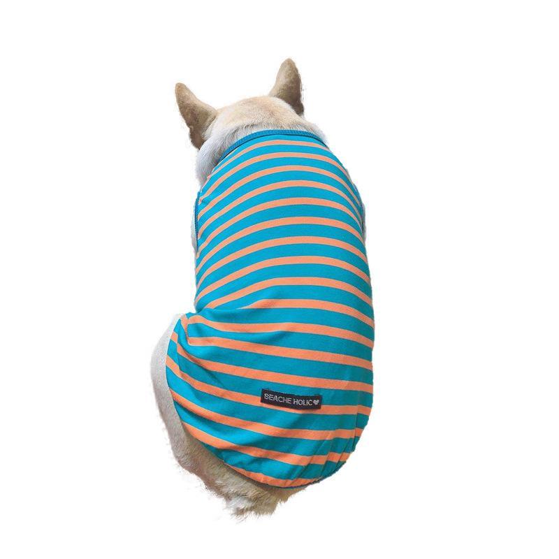 Sublimación Reflector en blanco Nylon Chaleco para perros de mascotas Ropa de malla transpirable ajustable Camisa de verano creativo Camisa de verano TUXEDO PET DOG Suppli {Categoría} P3CG