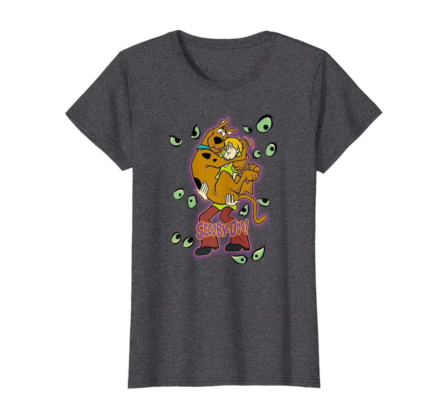 Scooby-Doo Shaggy Being Watched T-Shirt