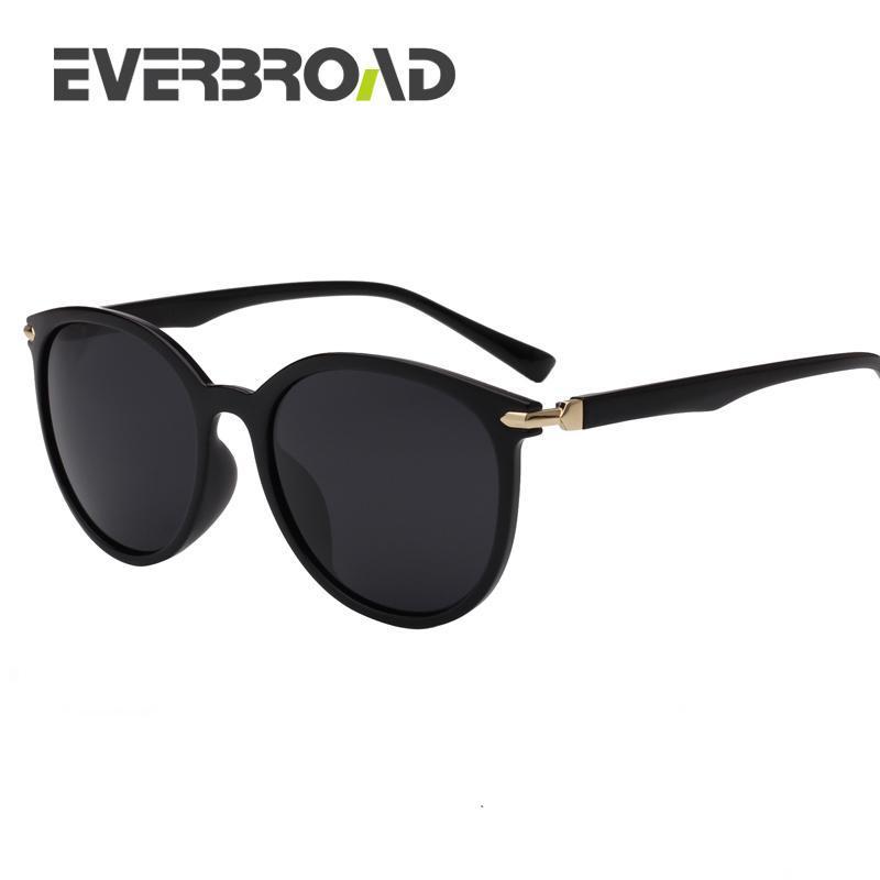 Таинственный корейский дизайн Солнцезащитные очки Женщины Супер Звезда Чувство Поляризованные Очки УФ Защита EV2738