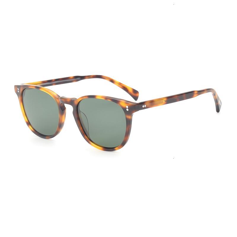 Lunettes de soleil lentilles polarisées Vintage Finley esq. Marque Designer Hommes Femmes Sunglass OV5298 Retro Sun Lunettes Gafas Oculos Opyz
