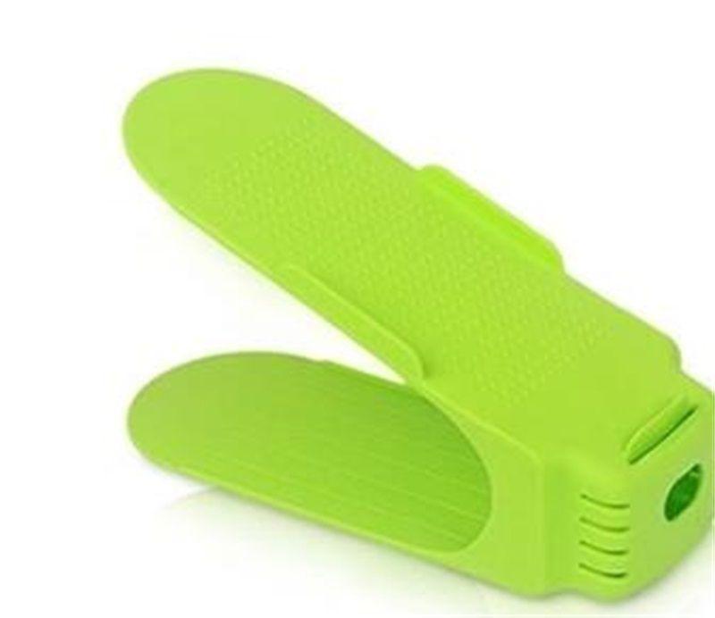 10 шт. Обувная стойка Регулируемая обуви Стойка для Органайзер Обувь Обувь для хранения Подставка для хранения 98 V2