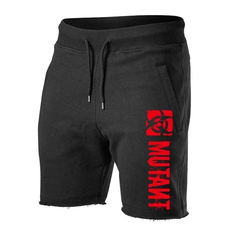 Sweat shorts verão homens treino casual calções de algodão esporte musculação bermudas executando EUA calças táticas homens moletom 210310