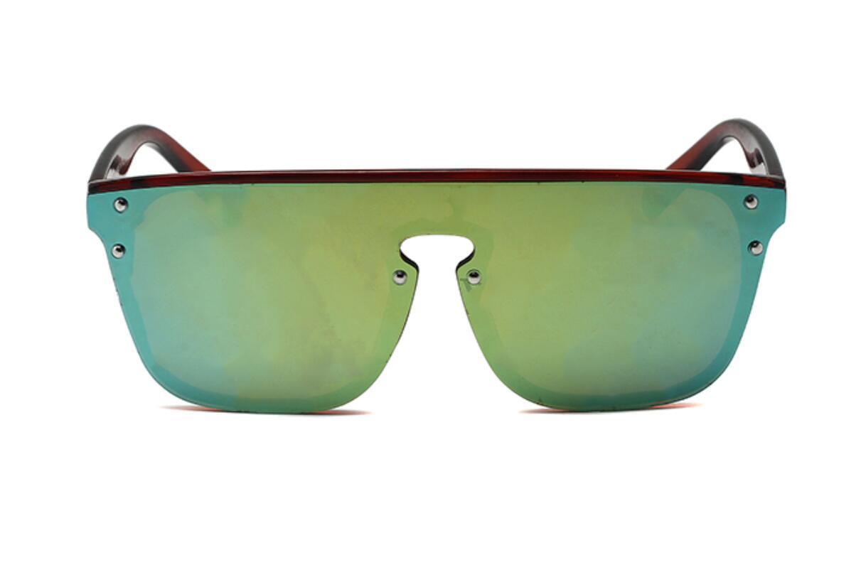 Yaz Kadın Moda Güneş Gözlüğü Tasarımcı Gözlük Erkekler Bisiklet Güneş Bayanlar Sürüş Plaj Leopar Baskı Renkler Git
