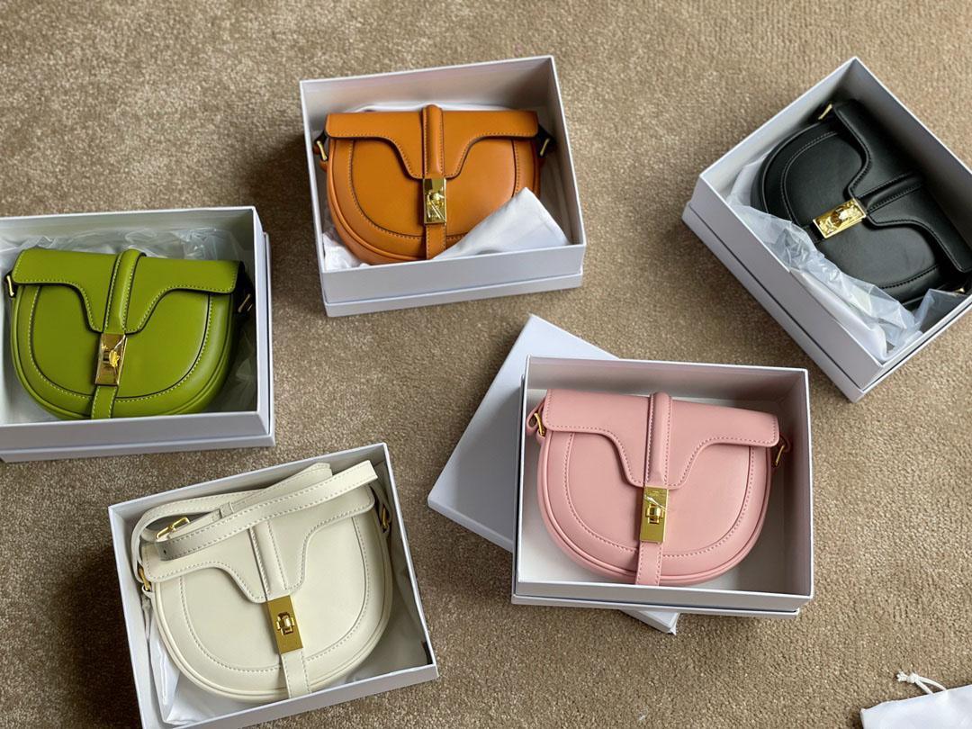 원래 고품질 luxurys 디자이너 가방 지갑 여자 패션 멀티 포 셰트 안장 가방 특별 잠금 크로스 바디 숄더 백 2021