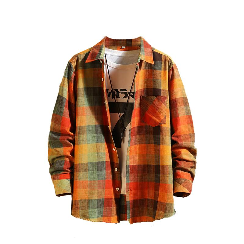 2021 Новая мода мужская повседневная печатная рубашка с длинным рукавом социальный бизнес одежда легкая кнопка вниз мужская платье рубашка 2GMM