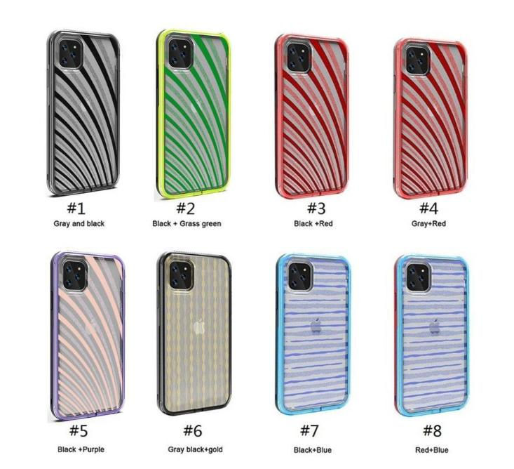 New Defender Hybrid 2 em 1 TPU + PC Heavy Duty Improof Impact Protection Phone Case para iPhone 11 Pro Max 11 Pro XR XS Max 6 7 8 Plus