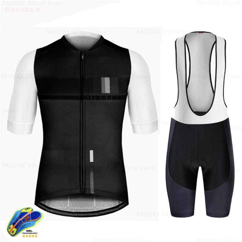 Racing Messages 2021men Быстрый сухой велосипедные джерси Установить Рарудакс Летний Сплошной цвет Дышащая спортивная одежда ROPA Mujer MTB Велосипедная езда