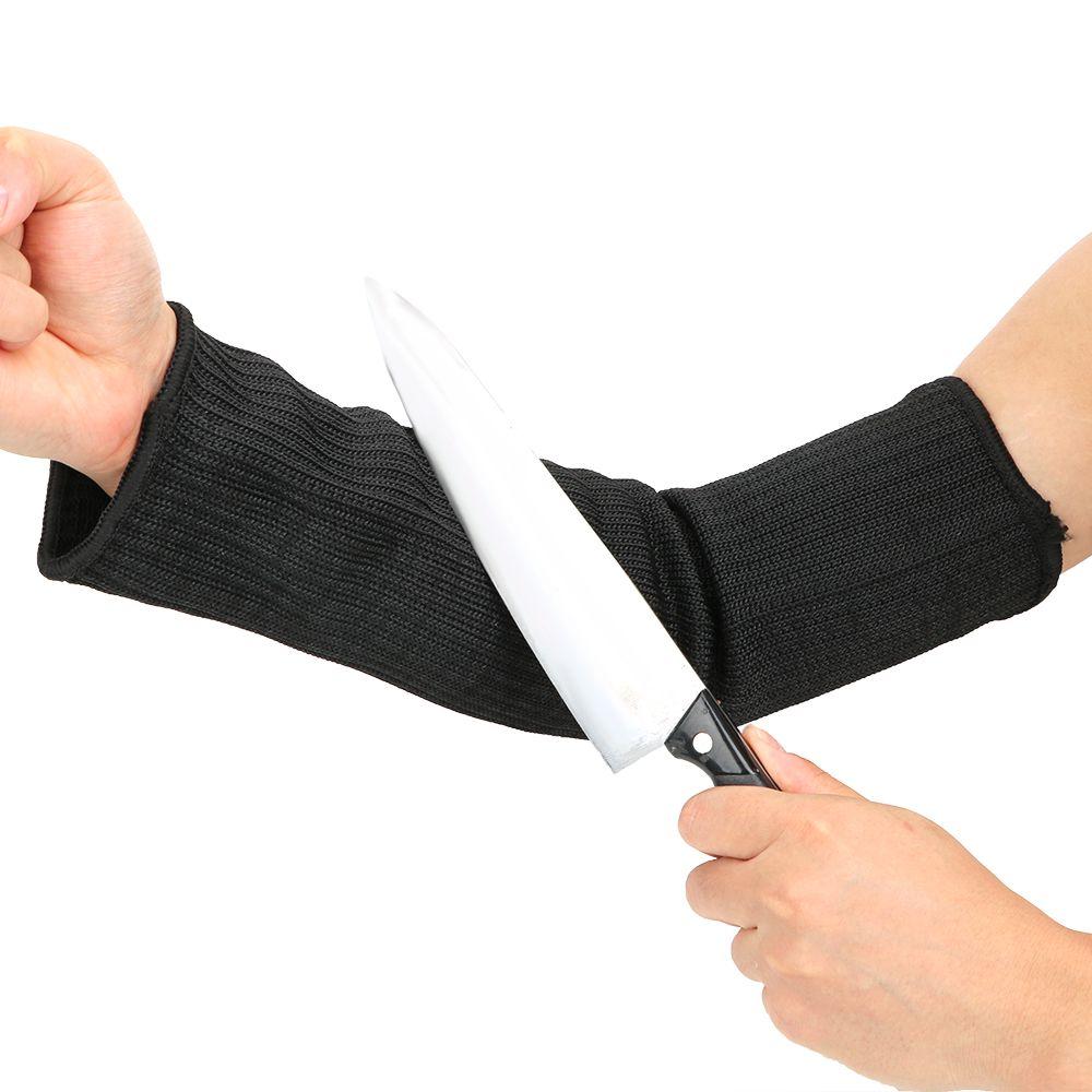 Outdoor Anti Abrieb Armbandschutz Anti-Cut Arme Stahldraht Cut Proof Armhülse Guard Bracer Sports Arbeit Schützen Mangas