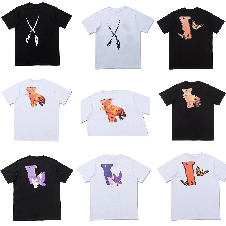 Summer Hommes Styliste T-shirt Hommes Femmes Mode T-shirt Lettres Imprimer Marque De Marque Vêtements Street T-shirts T-shirts Taille S-2XL