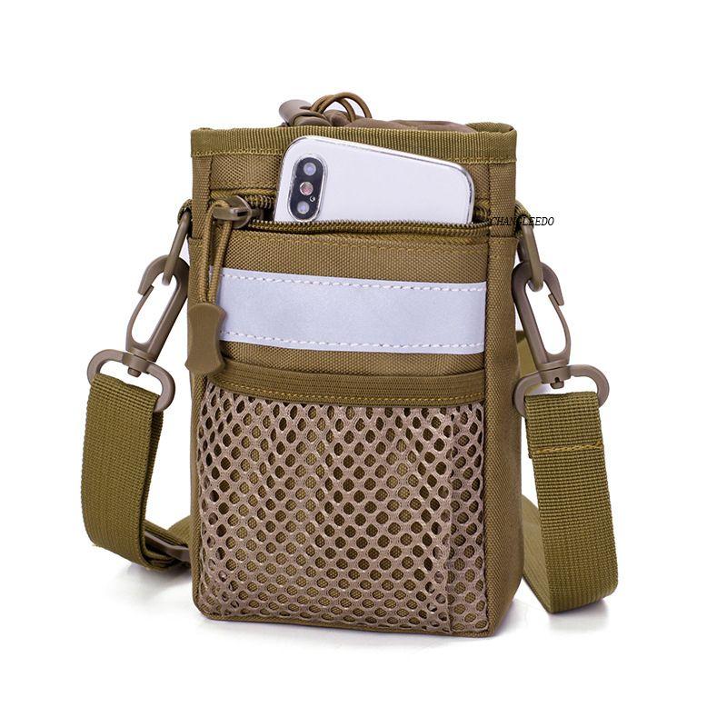 New outdoor multi functional man shoulder 5.5-6 inch phone casual small waist Mini slingshot crossbody bag 249 C0305