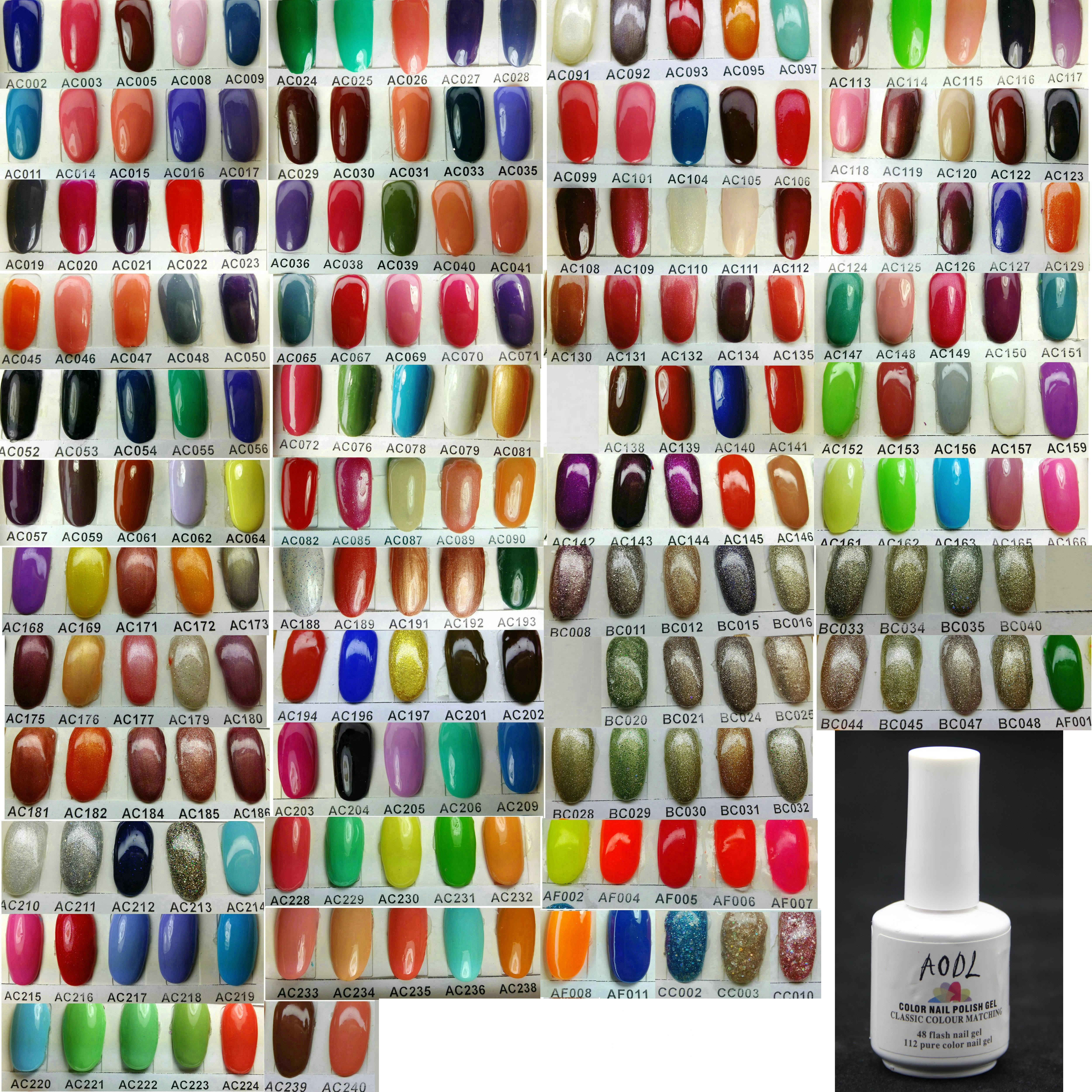 * Högkvalitativ * Ny utgåva 6st / parti 15ml 5oz Soak-off suga av färg UV Gel polsk för nagelkonst LED Gel Health * 209 Färg kan väljas *