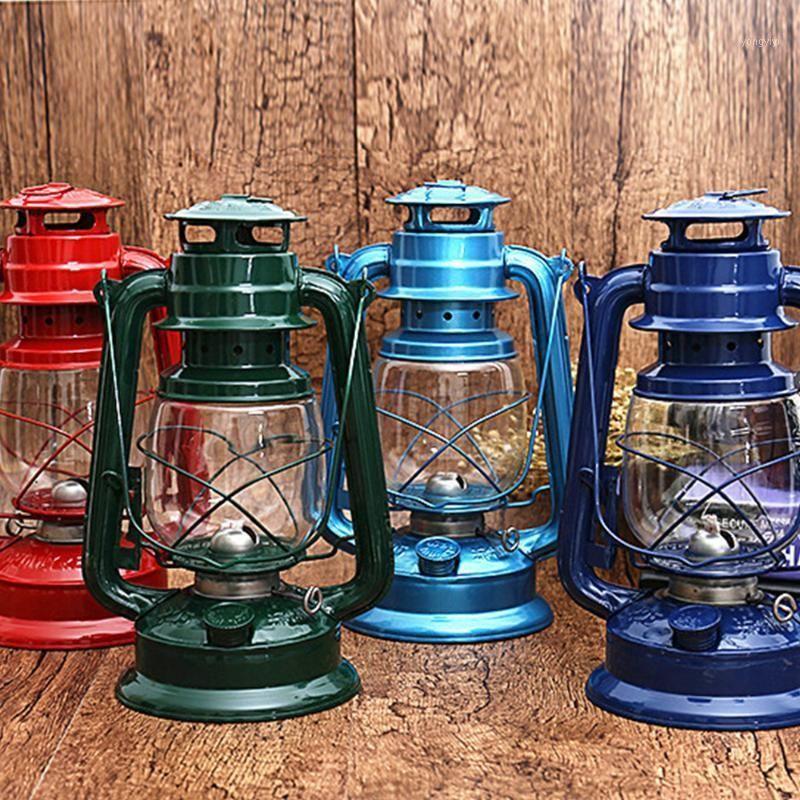 Портативные фонарики Ly Retro Classic Керосиновая лампа Открытый Кемпинг Масло Свет Светильника Фонарь Adornment1