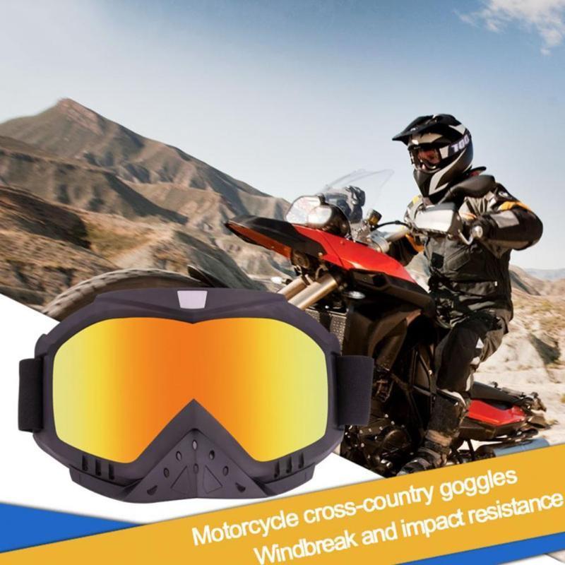 نظارات في الهواء الطلق 369 نظارات الدراجات للدراجات النارية Windproof 7 ألوان السلامة تنفس نظارات رياضية عالمية متعددة الوظائف