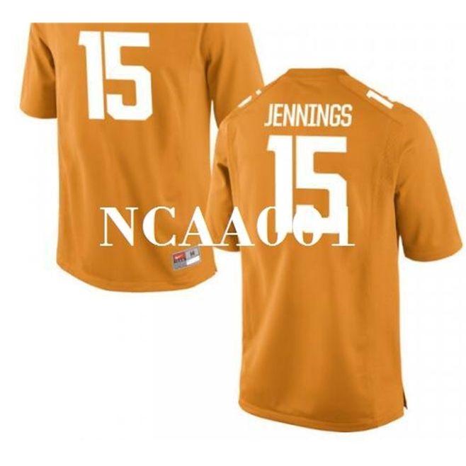001 # 15 Juauan Jennings Tennessee добровольцы выпускников колледжа Jersey S-4xlor пользовательское какое-либо имя или номер Джерси