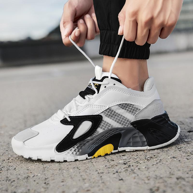 Professional mens running shoes breathable sports shoes wear-resistant lace casual shoes Zapatos Hombre Sapatos hiking