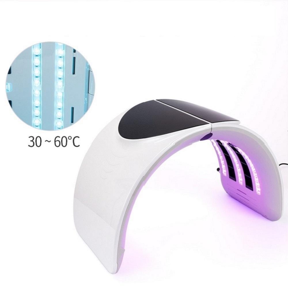 PDT LED 라이트 테라피 피부 젊 어 짐 광역학 치료 시스템 램프 7 색 개인 광자 페이셜 뷰티 살롱 기계