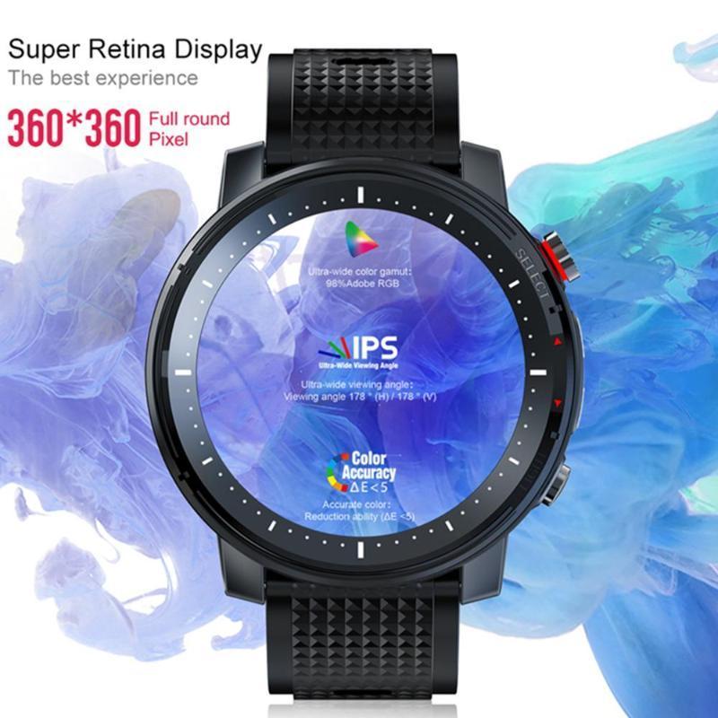 Relojes inteligentes l15 reloj hombres 1.3inch ajuste completo Retina redonda Mostrar música Control de música PK L9 L11 SmartWatch IP68 Impermeable