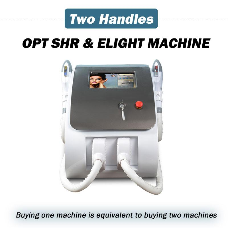 OPT SHR 레이저 머리 제거 기계 IPL 레이저 기계 영구 모발 감소 Elight 안티 에이징 강화 얼굴