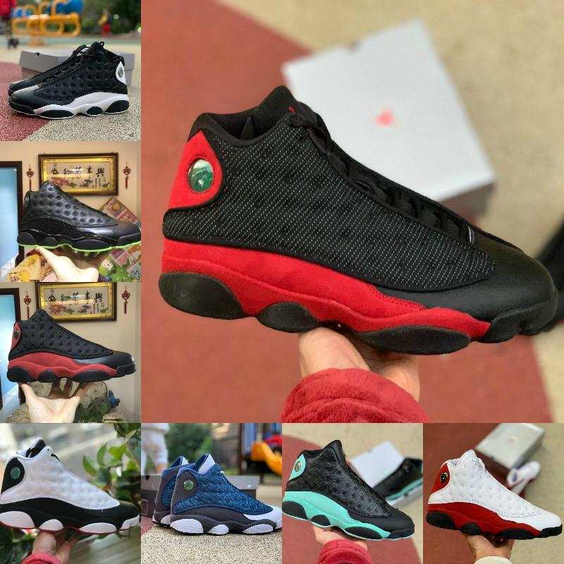 Air Jordan 13 Shoes retro jordans Nike 2021 Playoffs 13 Rouge Flint 13s Femmes Mens Basketball Chaussures Soar Green Rose Rose Chicago Hyper Royal 13 Bred Lucky