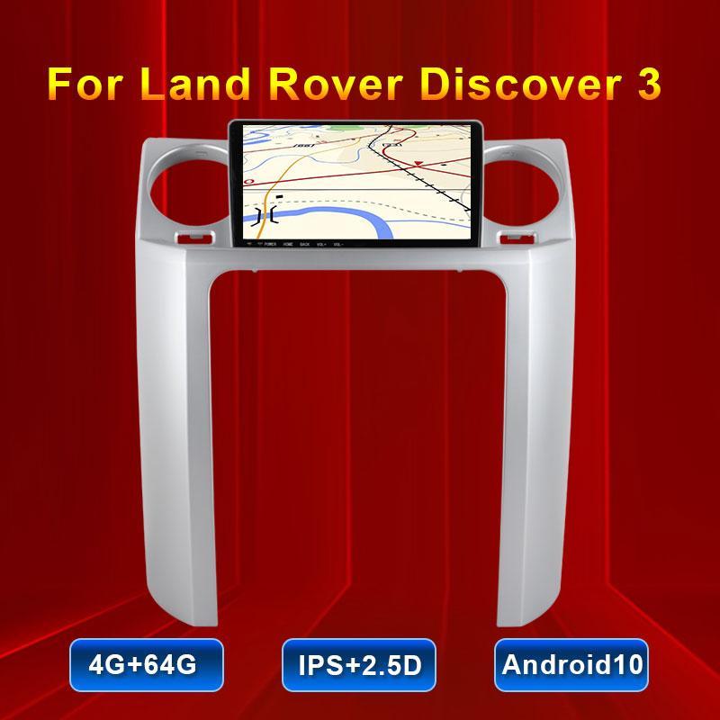 Car Navigator per Land Rover Discovery 3 schermo orizzontale 9.66 pollici auto multimediale video player HD GPS navigazione radio BT