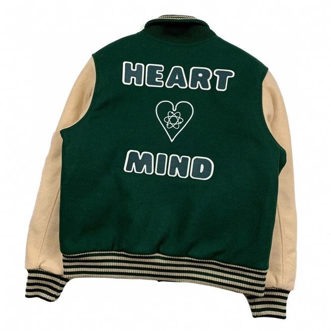 Astronaute Baseball BBC Jacket ViBe Kenijima Même laine American Tweed Veste Fashion