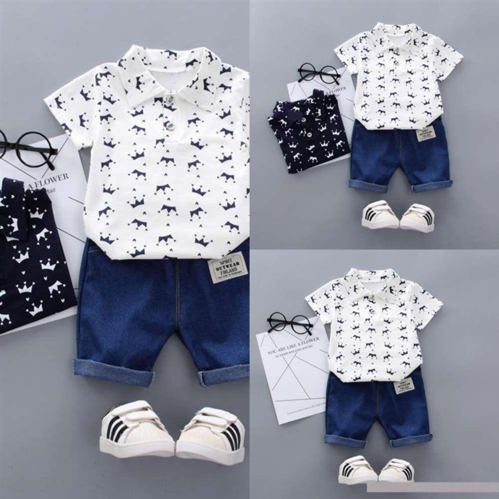 7c6 Vêtements enfants Vêtements d'été Bébé Bébé Filles Vêtements Valeur Blanc Top Mini Plaids Casual Toddler Girl Summer Vêtement Enfant Pantalon court