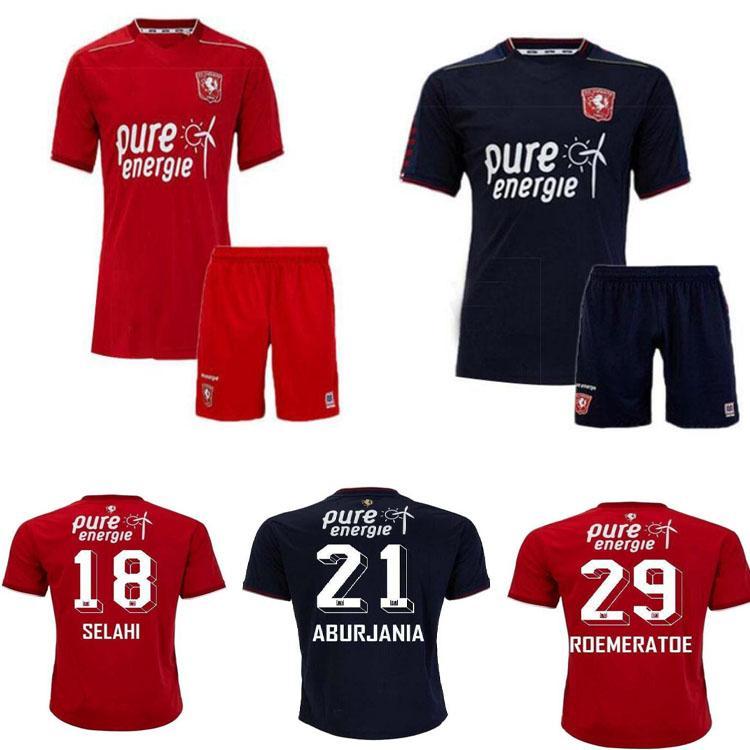 Top Quality2020 2021 Twente Jerseys de futebol 20 219 Selahi Luciano Homens + Terno infantil Camisa de futebol curto Aburjania