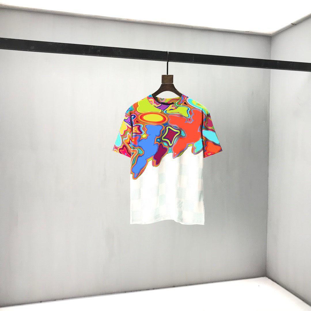AB Boyutu erkek Kazak Suit Kapüşonlu Rahat Moda Renk Şerit Baskı Asya Boyutu Yüksek Kalite Vahşi Nefes Uzun Kollu 19 M T-Shirt