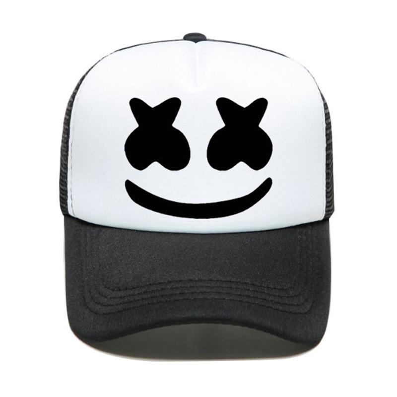مبتسم الوجه التعبير قبعة البيسبول قبعة الشمس شاحنة قبعة مبتسم الوجه نمط صافي قبعة الرجال والنساء