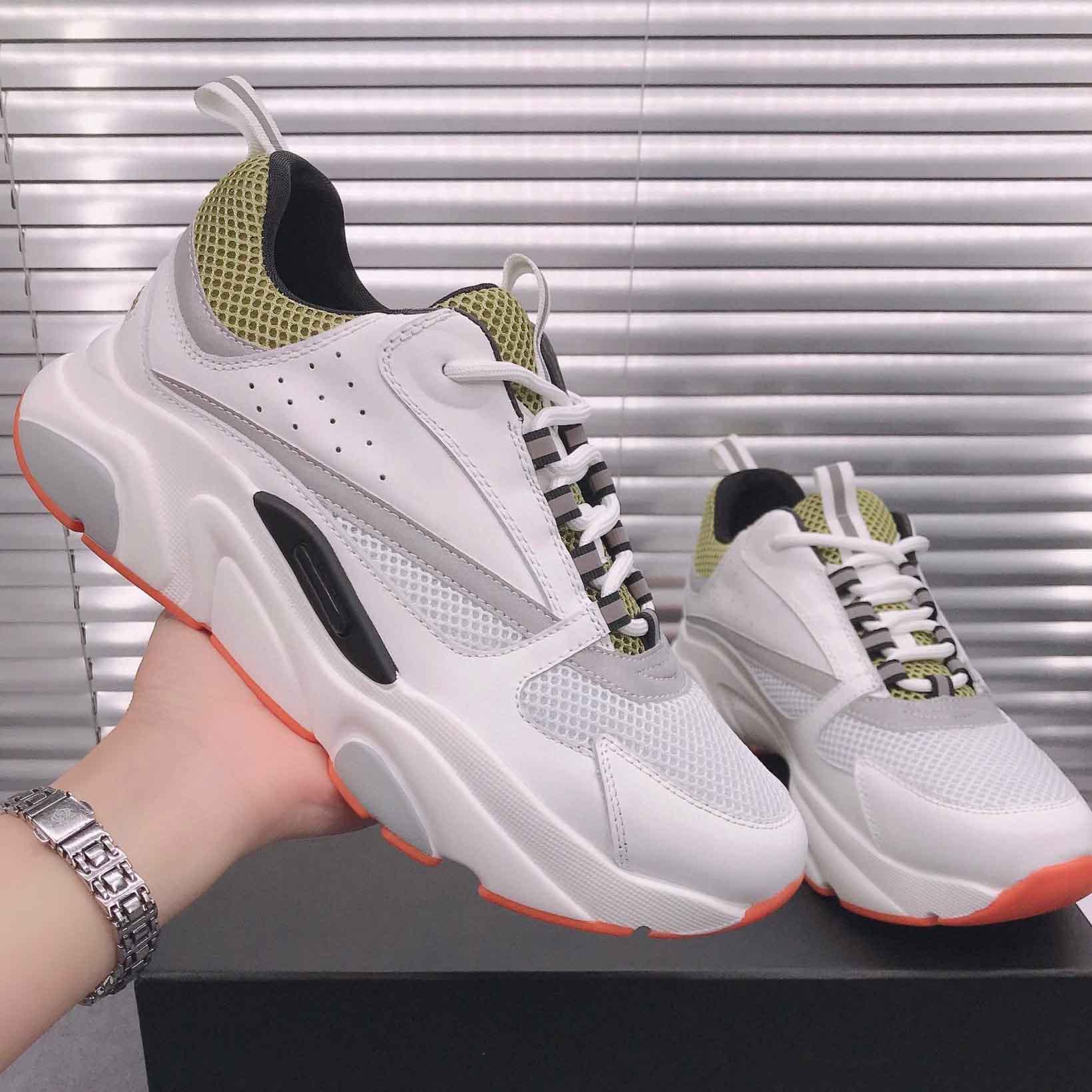 2021 B22 Случайные кроссовки Обувь Классический предел Показать стиль Старый папа Университет Удобные Женщины Мужчины Домашняя Обувь Обувь с коробкой