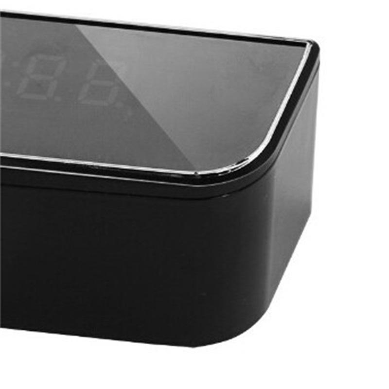 WiFi مصغرة كاميرا المنبه الأمن كشف الحركة مربية ir الجدول ساعة الولايات المتحدة المكونات HD 1080P 678 K2