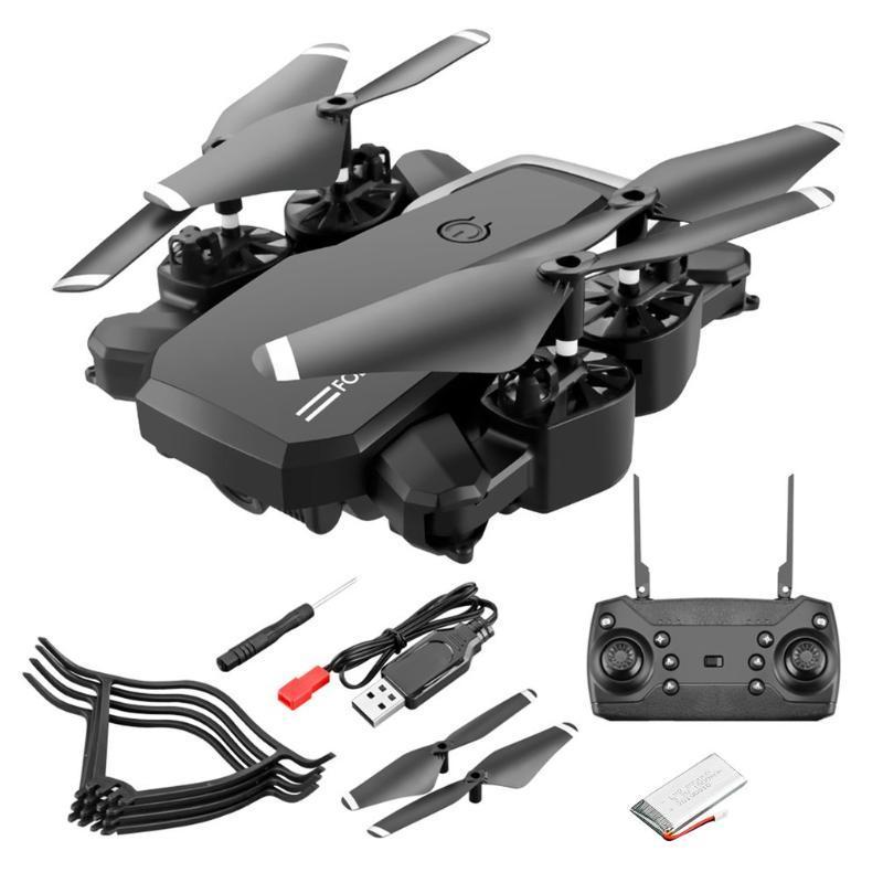 LF609 WiFi FPV Pieghevole RC Drone con fotocamera 4K HD Altitudine Hold 3D Flips Modalità senza testa Aeromobile RC Elicottero