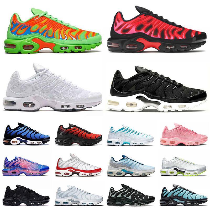 max plus tn airmax tns TAGLIA US 12 scarpe da corsa uomo donna Worldwide tn plus se triple nere scarpe da ginnastica tutte bianche sneakers sportive da esterno EUR 36-46