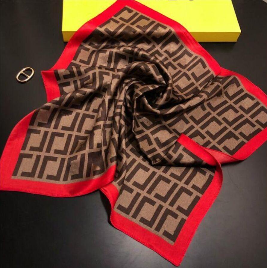2021 moda designer donna sciarpa di seta lettera lettera fascia marchio piccolo sciarpa verable foulard accessori accessori Attività regalo