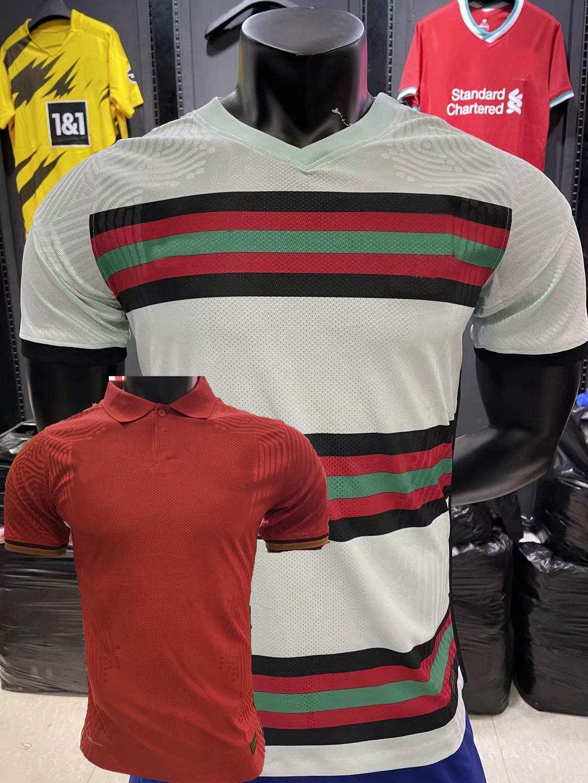 Player versione 2020 2021 Portogallo B.fernandes Joao Delix Pepe Semedo Bernardo Diogo J. J.Moutinho Soccer Jerseys Camicie da calcio Camicie