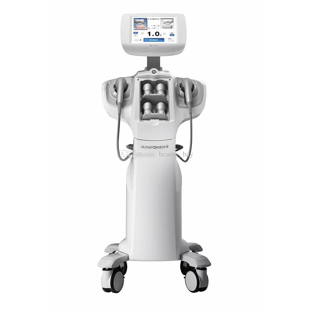 2021 Profesyonel 7D HIFU Ultrason Yüz Makinesi Vücut Zayıflama ve Yüz Anti Aging Anti-kırışıklık Cilt Kaldırma HIFU Makinesi Satılık
