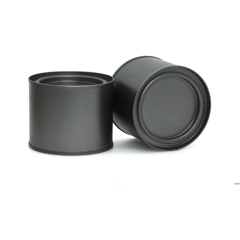 250 мл алюминиевый может оловянный кофе чай банку бальзама для губ контейнер пустые свеча банки металлические кремовые коробки HHA6999