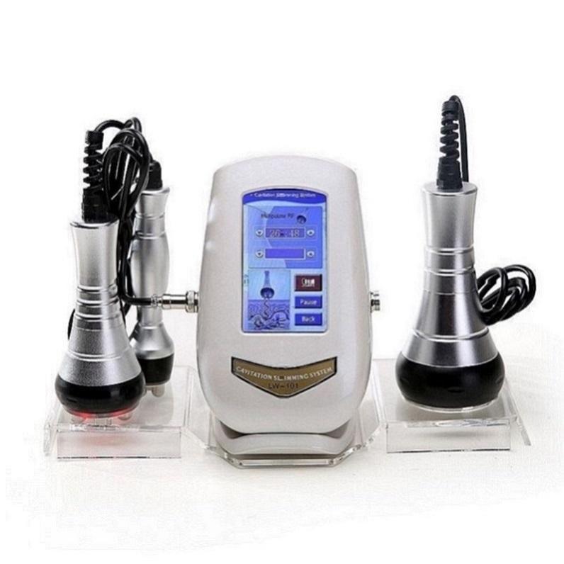 3 em 1 40K Cavitação Perda ultra-sônica Peso Beleza Máquina RF Rádio Frequência Rejuvenescimento Levantamento de Pele Aperte Anti-rugas