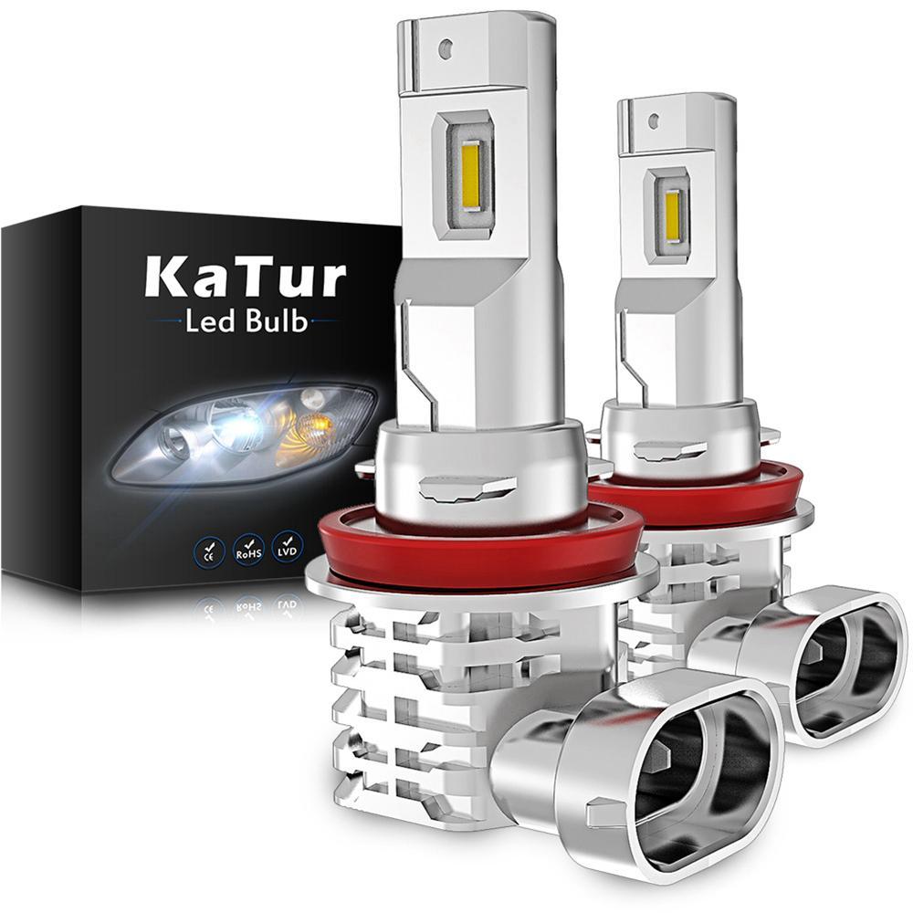 2 шт. H8 Fog Fights H11 H9 9006 9005 для Hyundai Tucson 2017 CRETA KONA IX35 KIA RIO 3 4 K2 K5 KX5 Светодиодный светильник для автомобильной лампы
