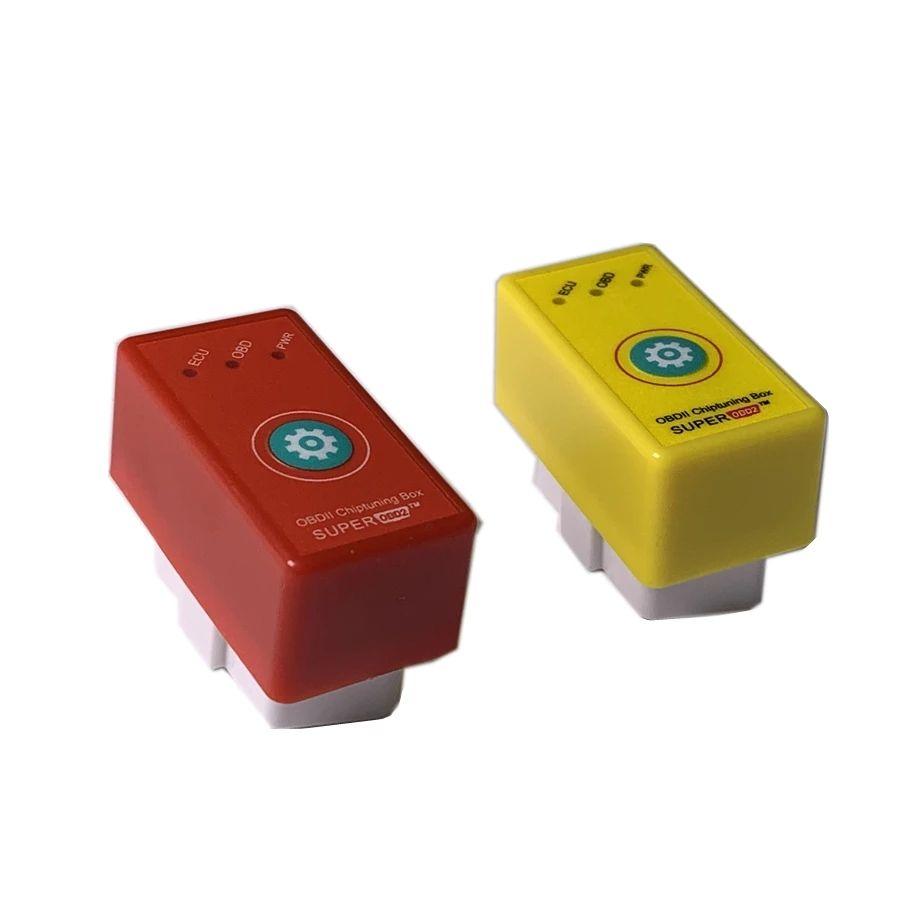 SUPER OBD2 Boîte de syntonisation de la puce de voiture de voiture et lecteur plus couple en tant que Nitro OBD2 Benzine / Diesel NitroOBD2