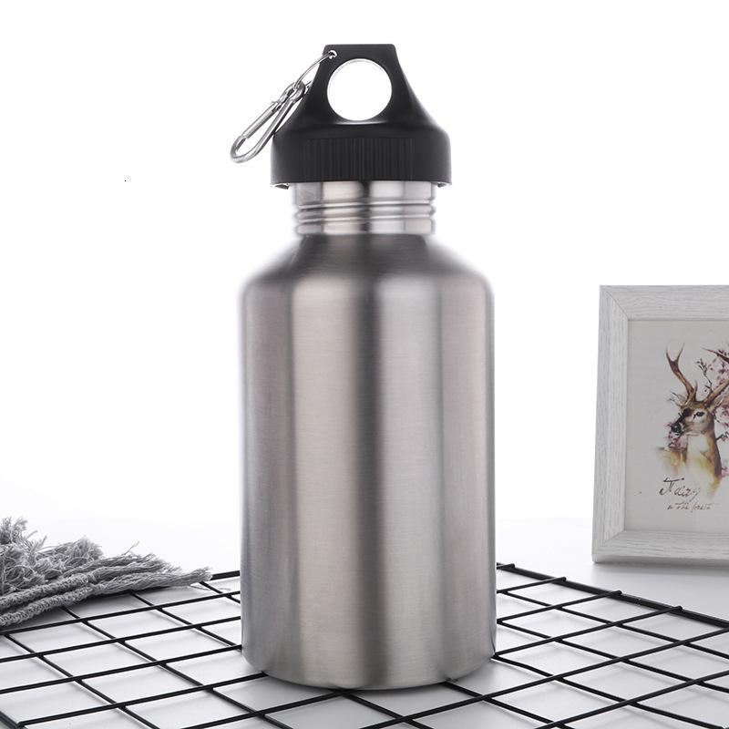 304 Stainless Steel Straight 64oz Thermal Insulation Sports Large Capacity Ice Bucket Camping Space Kettle