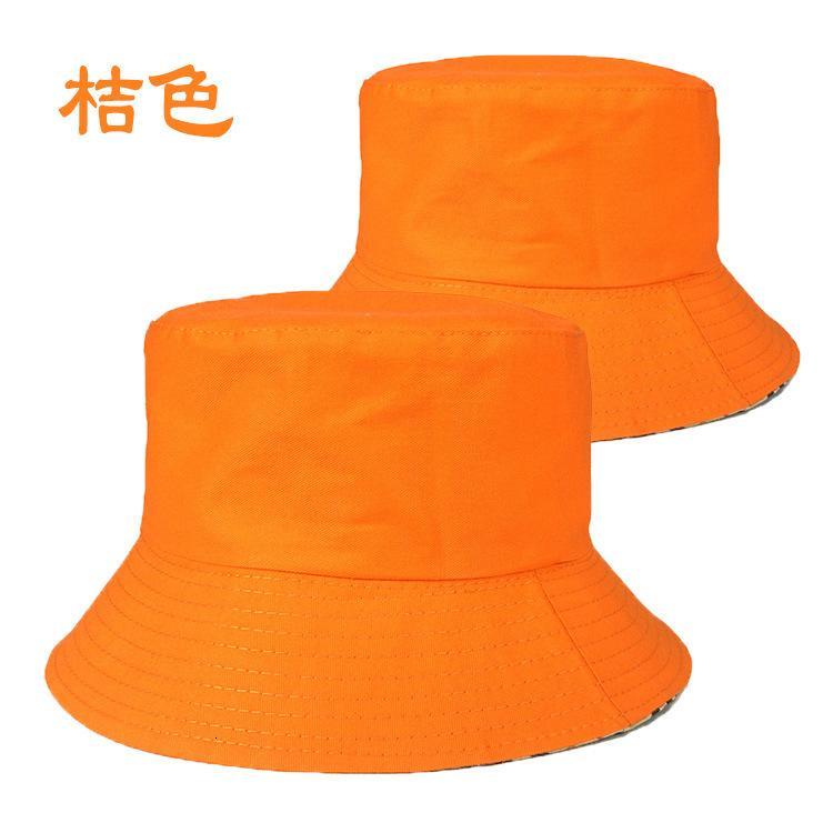 Fashion Fisherman's Top Basin Flat Basin Sunshade Sunscreen Primavera Parent Bambino Bambino rotondo Pubblicità cappello stampa